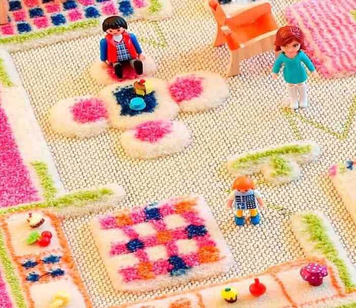 ivi playhouse pink rug