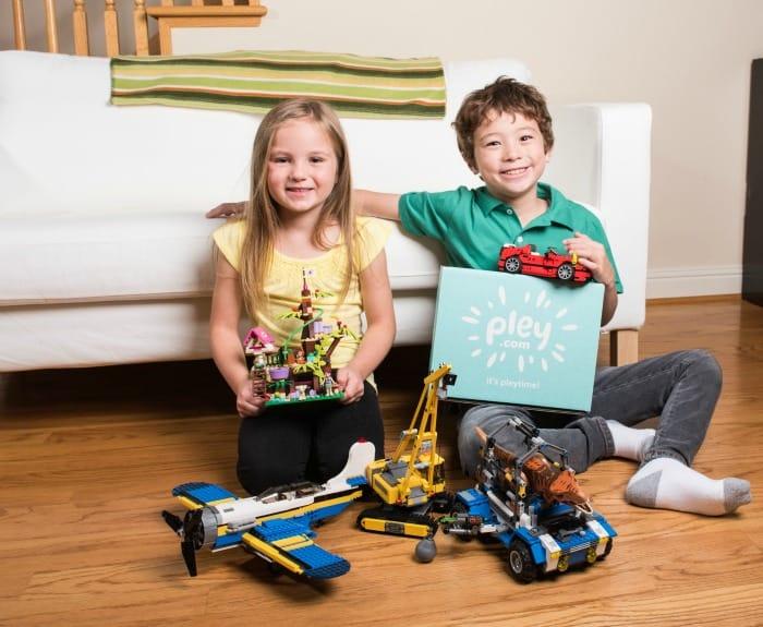 pley toy rental company lego sets