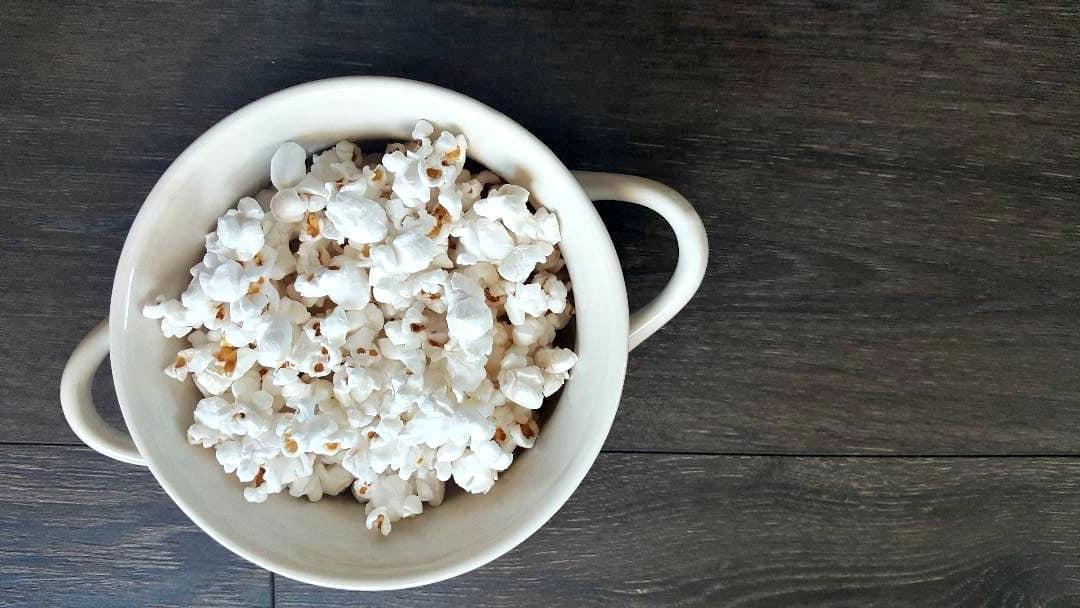 popcornopolis nearly naked popcorn in a bowl