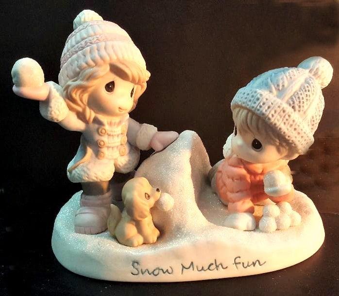 precious moments 40 years snow much fun