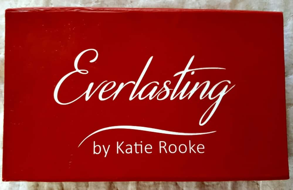 moonstone sapphire necklace, rainbow moonstone necklace from katie rooke everlasting collection
