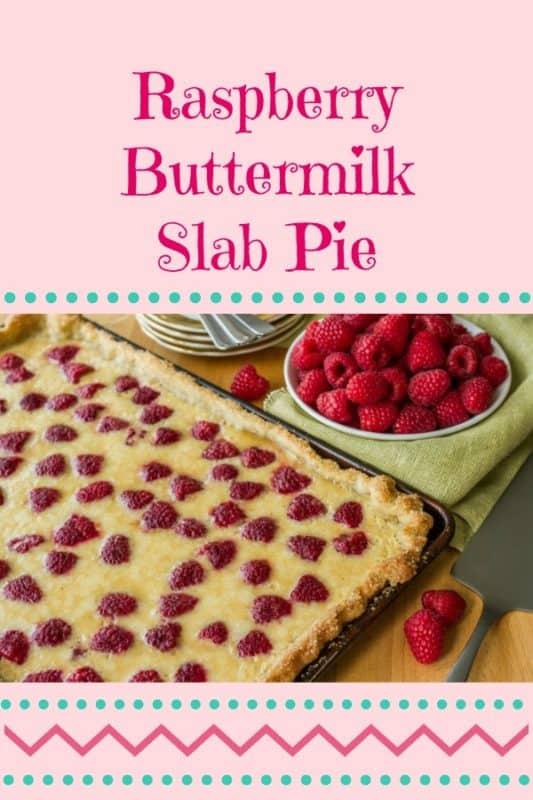 raspberry buttermilk slab pie recipe
