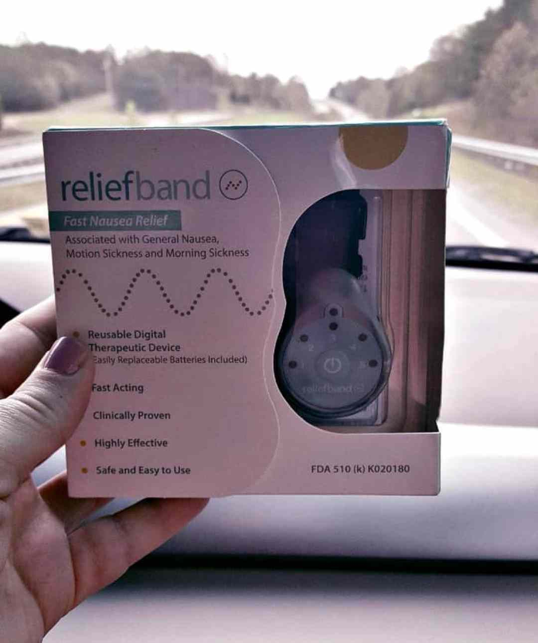 relief band in box