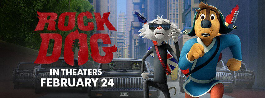 rock dog in theaters february 24