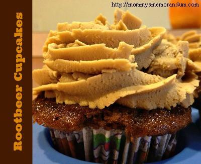 rootbeer cupcakes recipe, #recipe