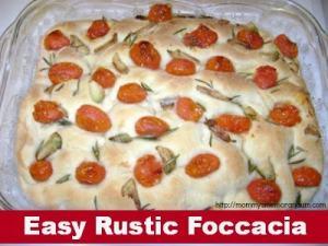 Recipe: Rustic Focaccia
