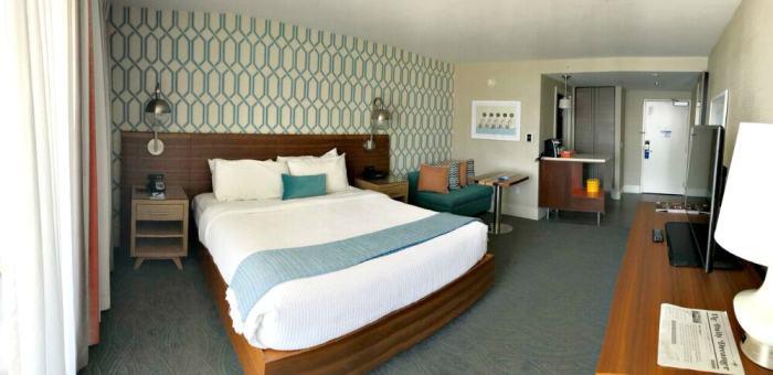 santa cruz dream inn room