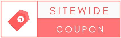 sitewide coupon logo