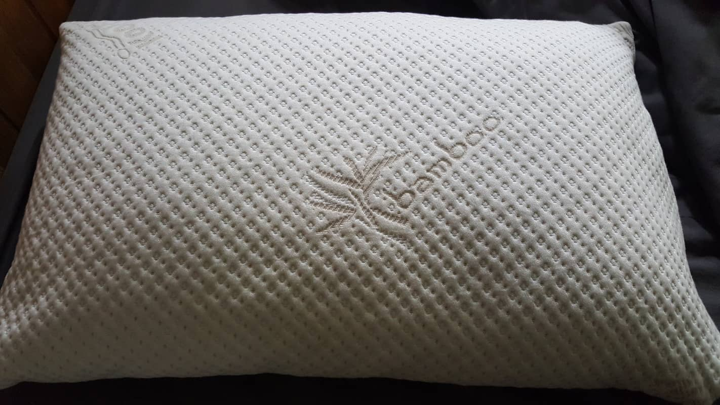 snuggle pedic Bamboo Combination Memory Foam Pillow bamboo cover