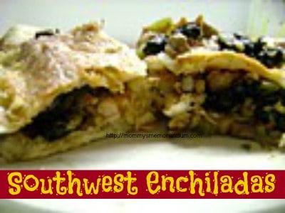 southwest enchiladas recipe
