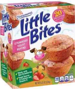 Entenmann's Little Bites Strawberry Yogurt Muffins + $25 Visa GC