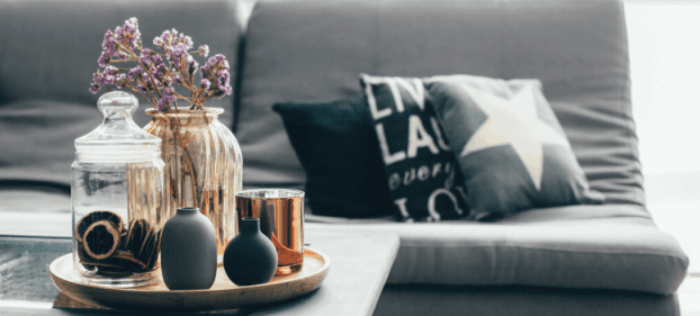 take out the tacky and create a tasteful living space