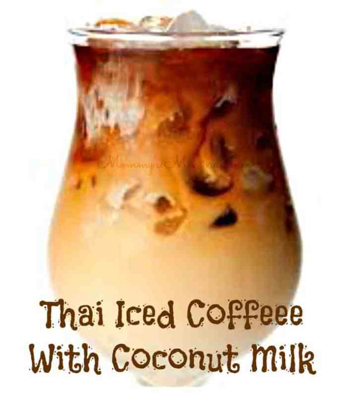 Thai Iced Coffee With Coconut Milk. Sweetened condensed milk adds ...