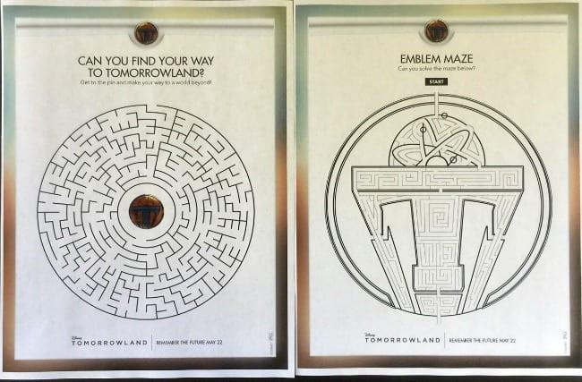 tomorrowland maze