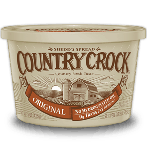 tub of country crock