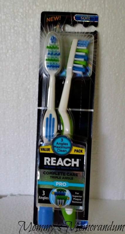 #upgradeyourbrush REACH Pro