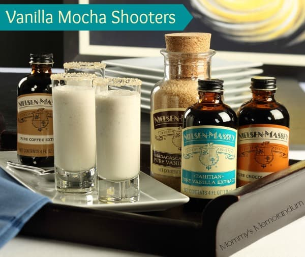 vanilla mocha latte shooters #recipe #mocha #nom