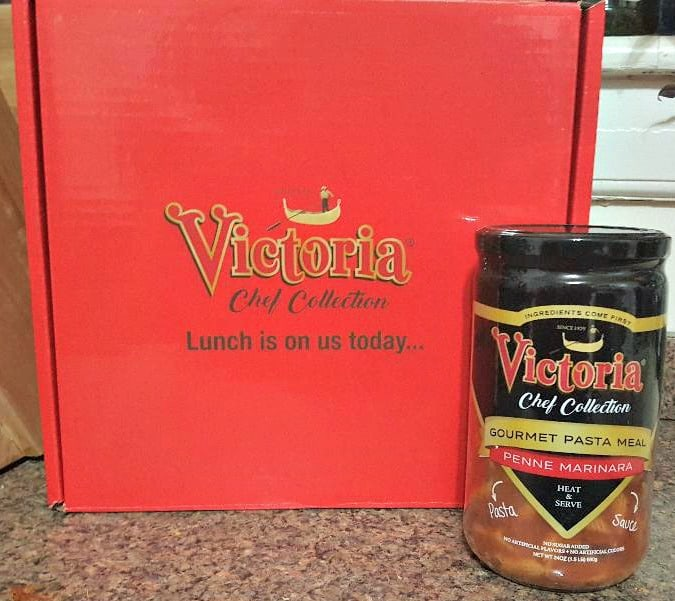 victorias Chef Collection Gourmet Pasta Meal in jar