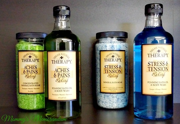vintage naturals therapy body wash and soaks