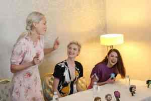Karen Gillan, Pom Klementieff & Elizabeth Debicki Talk Strong Female Roles in #GotGVol2