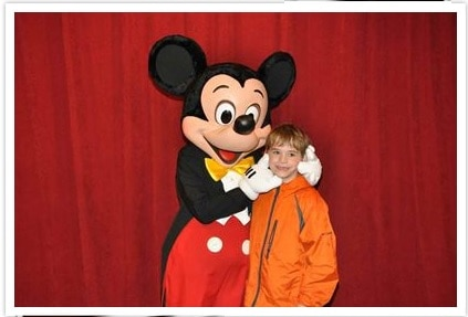 Meeting Mickey Mouse, Disney World, Orlando