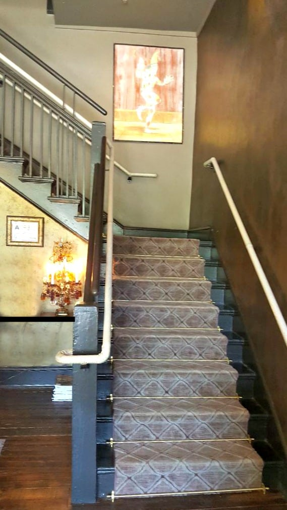 windsor boutique hotel staircase