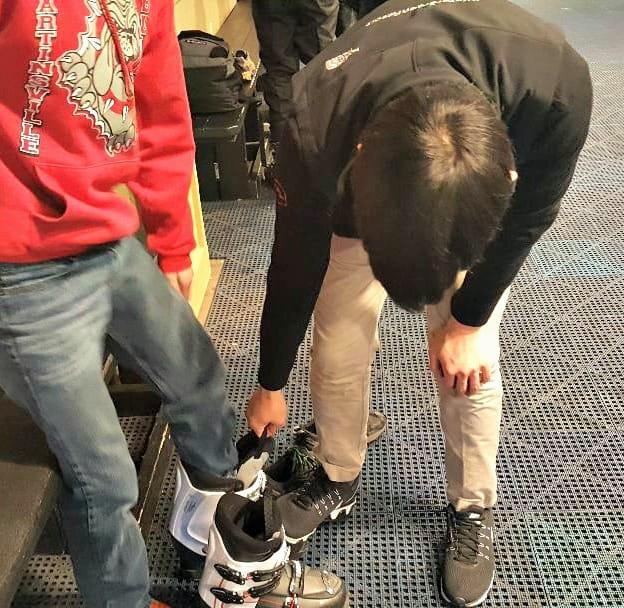 wintergreen ski boot fitting