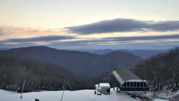 wintergreen view from condos