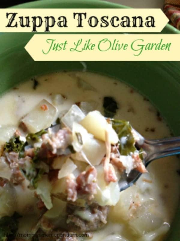 Zuppa Toscana Recipe Just Like Olive Garden