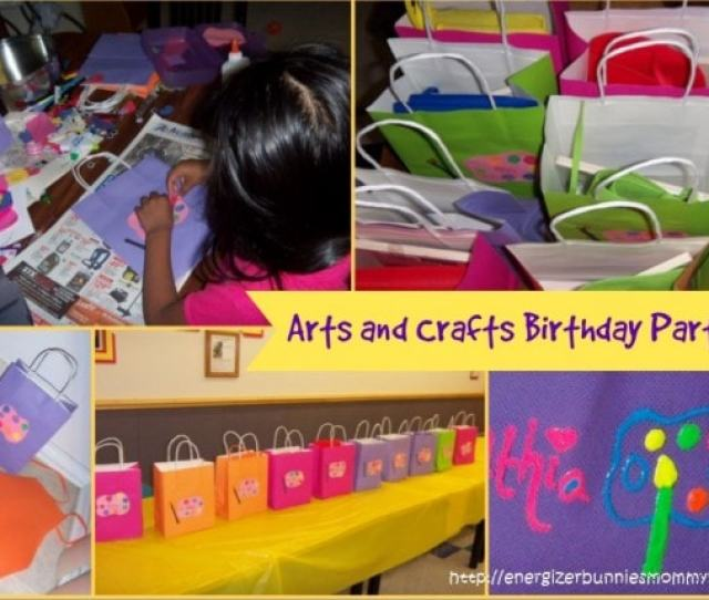 Arts And Crafts Birthday Party Ideas With Mommy Snippets