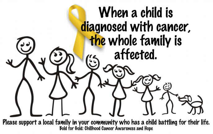September is Childhood Cancer Awareness Month. How can you