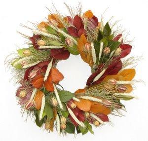 Fall Splendor Organic Wreath