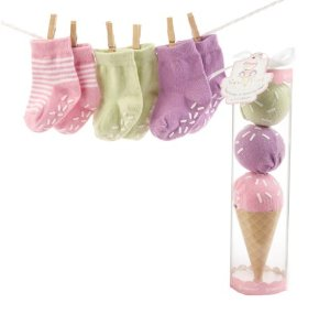Baby Shower Socks Gift Set