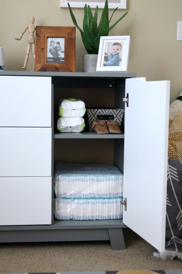 Babyletto Hudson Changer Dresser 3 Drawer
