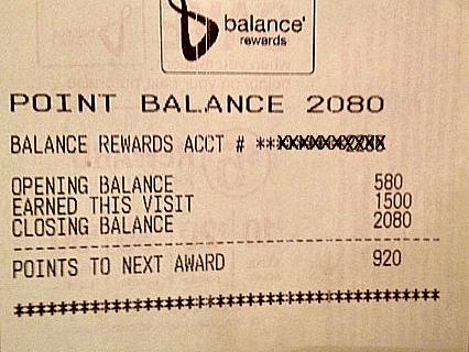 Walgreens Balance 1