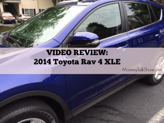 [VIDEO] 2014 Toyota Rav 4 XLE Review #MommyTalkDrive