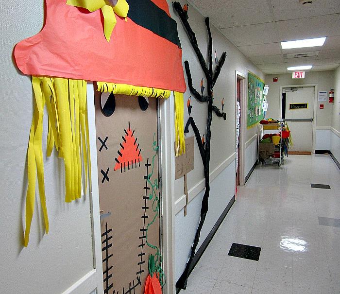 Scarecrow Door