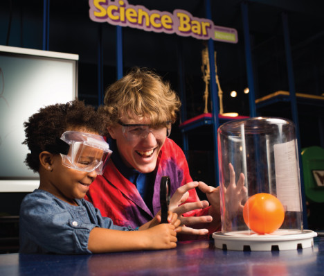 Children's Museum Science Bar