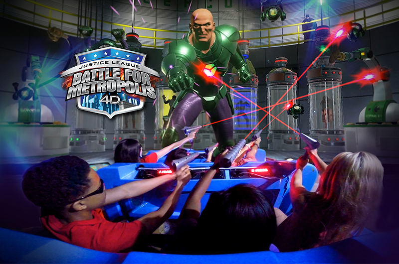 Battle for Metropolis Six Flags