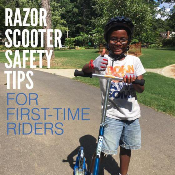 [VIDEO] Razor Scooter Safety Tips First-Time Riders