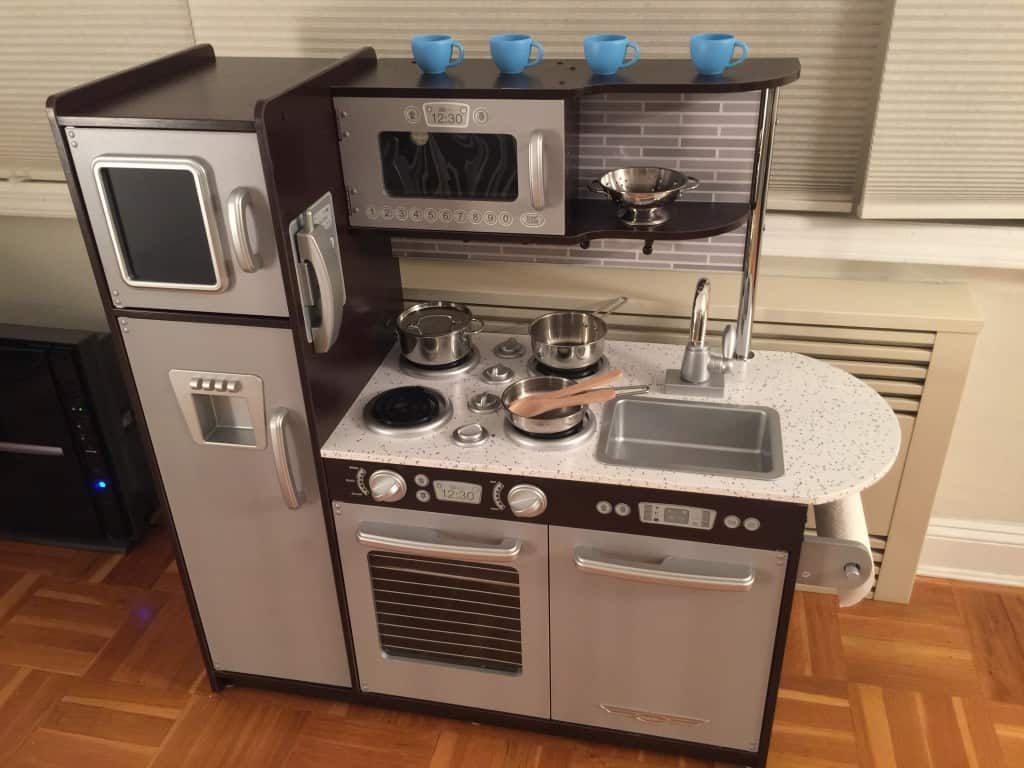 KidKraft Uptown Espresso Kitchen Review First Impressions