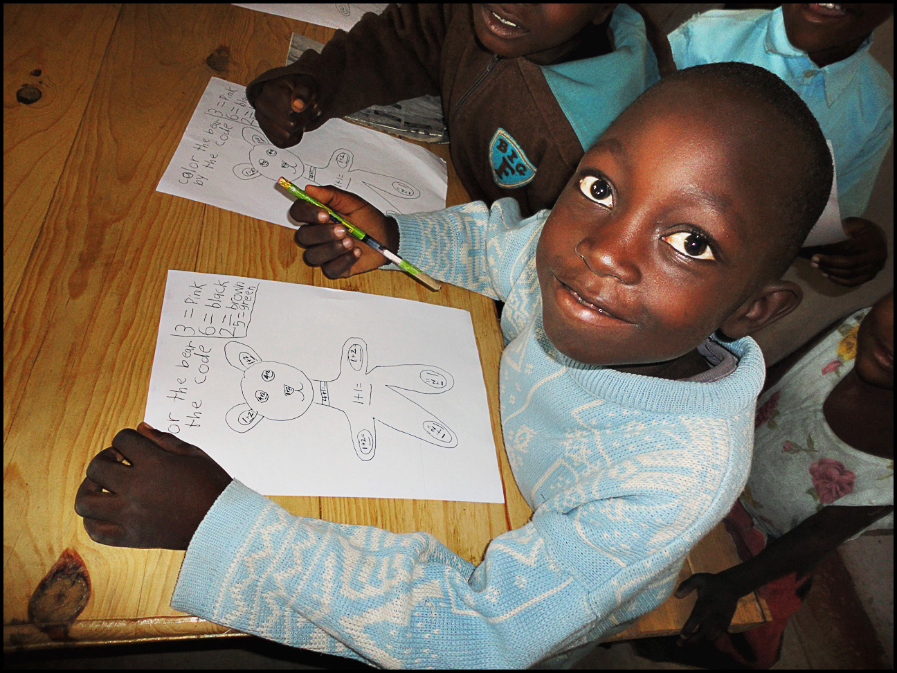 Worksheets For School Kids In Africa