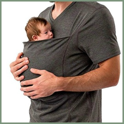 baby wearing shirt for dad