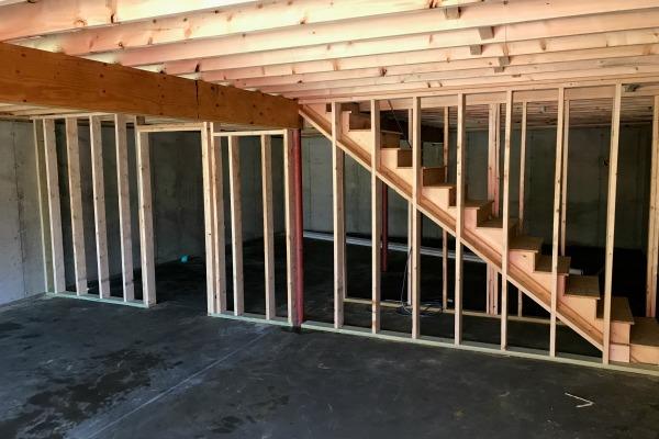 basement frame