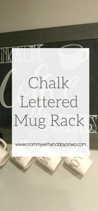 """Have you ever looked at a beautiful chalkboard and thought """"I wish I had handwriting like that!""""? Well, there is a little trick that makes designing your next chalkboard easy peasy!! Check out this quick and EASY tutorial for making your own chalk transfer!"""