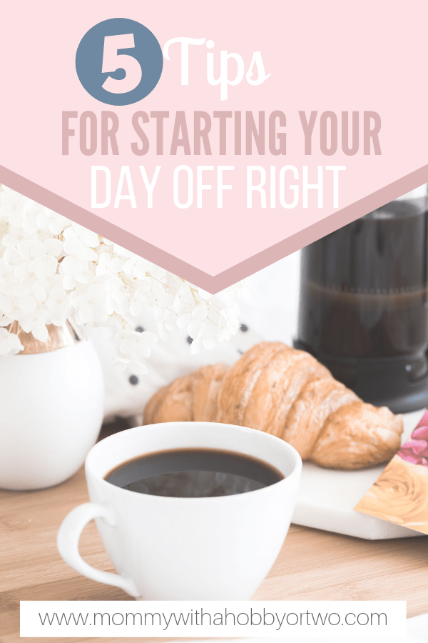 I changed just a few things about my morning routine to help myself start things off right so I could be as productive as possible every day.