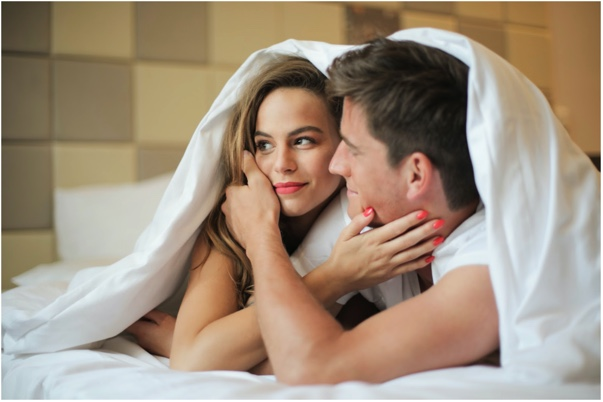 Cheerful Couple, intimacy, marriage