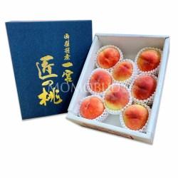 Japanese Takumi no Momo Hakuhou White Peach Gift Box (2kg)