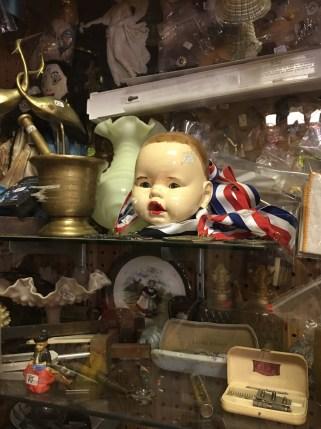 A doll's head??