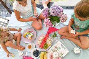 Snacken im Sommer